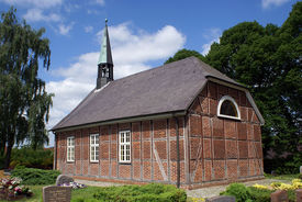 Außenansicht der Marienkapelle in Groß Schretstaken - Copyright: Manfred Maronde
