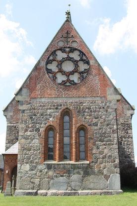 Ost-Ansicht der Kirche in Breitenfelde